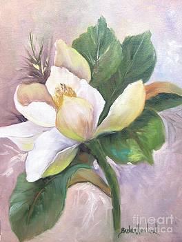 Magnolia Blossom by Barbara Haviland