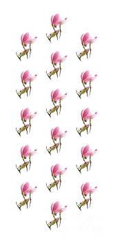 Andee Design - Magnolia Blossom Panel