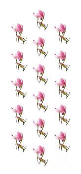 Andee Design - Magnolia Blossom Panel Flipped
