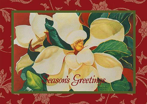 Ruth Soller - Magnolia card