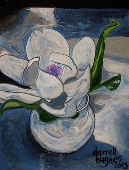 Magnolia in a Bowl by Darrell Hughes