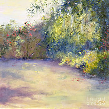 Magnolia Morning Light by Patricia Huff
