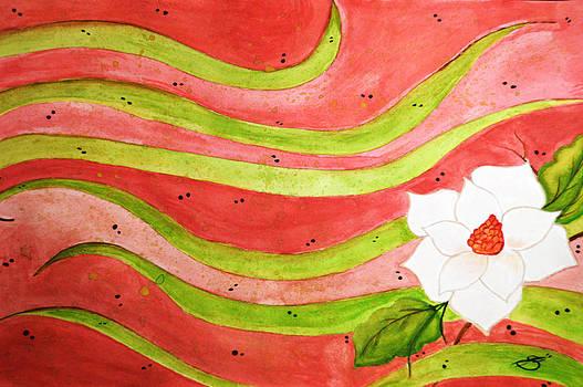 Magnolia Splash by Sherry Allen