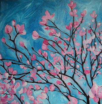 Magnolia Tree by Erin Wildsmith