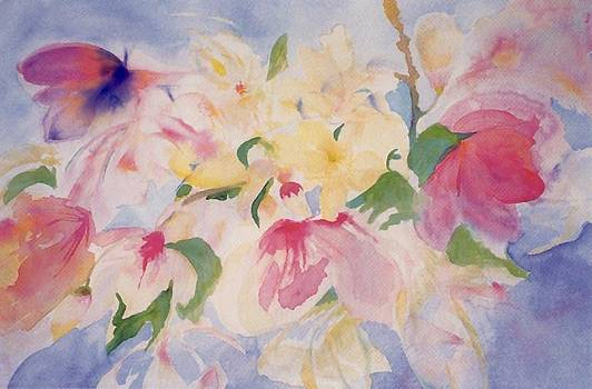 Magnolias by Phoenix Simpson