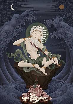 Mahasiddha Saraha by Ben Christian