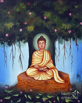 Mahatma Buddha by Divya Kakkar