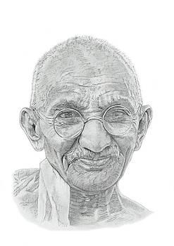 Mahatma Gandhi by Chris Greenwood