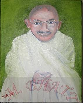 Mahatma Gandhiji by M Bhatt