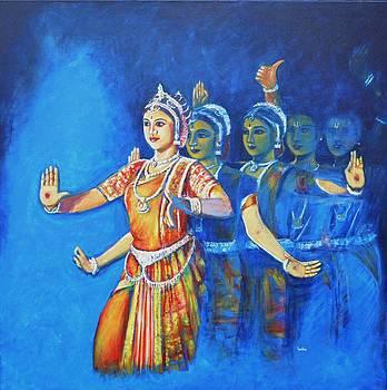 Usha Shantharam - Mahishaasura Mardini