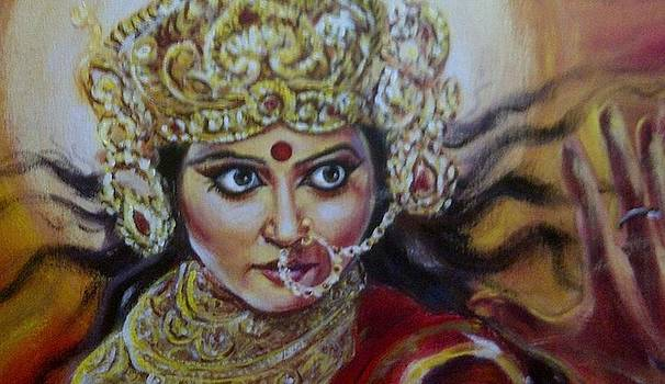 Mahishasura Mardhini by Murali Surya