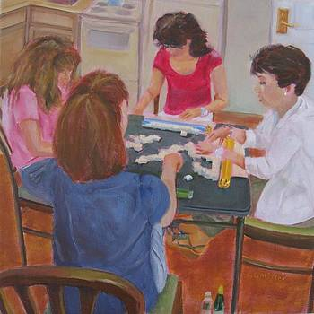 Mahjong Marathon by Laurie G Miller