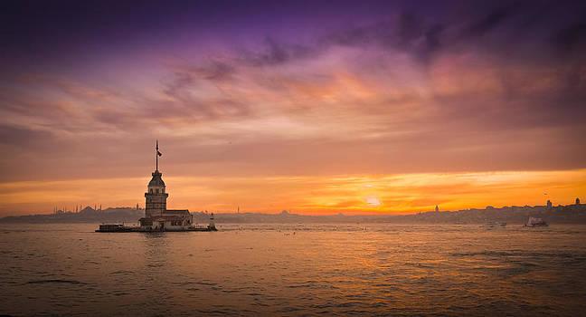 Maiden's Tower  by Yasar Ugurlu