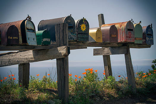 Mailboxes by Peter Verdnik