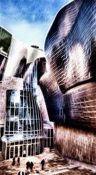 Weston Westmoreland - Main Entrance of Guggenheim Bilbao Museum in the Basque Country Fractal
