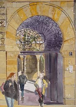 Main Gate AUB by Martin Giesen