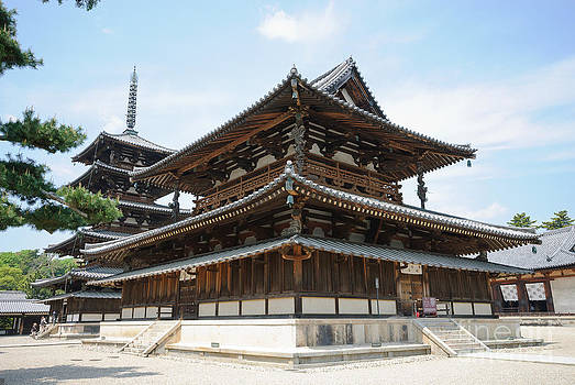 David Hill - Main Hall of Horyu-ji - world