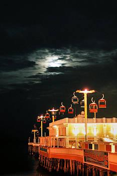 Main St Pier Sky Lift by Paulette Maffucci