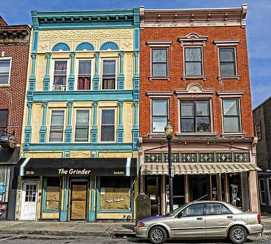 Main Street Color by Nancy De Flon