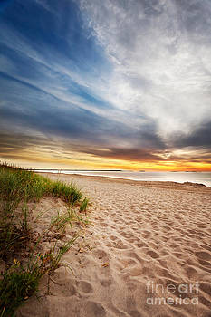 Jo Ann Snover - Maine beach sunrise