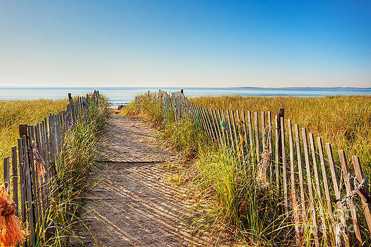 Jo Ann Snover - Maine boardwalk to the beach