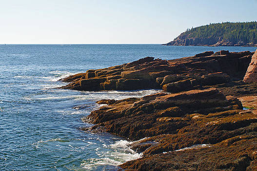Maine Coast 4 by Kristen Mohr