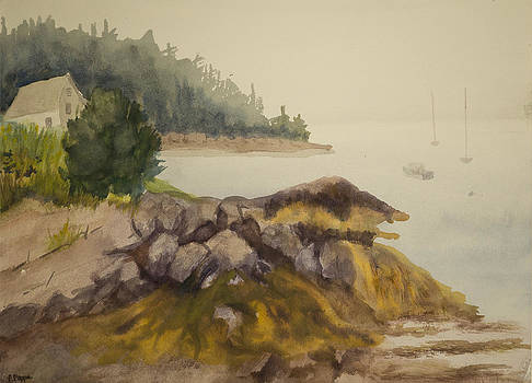 Maine Fog by Peggy Poppe
