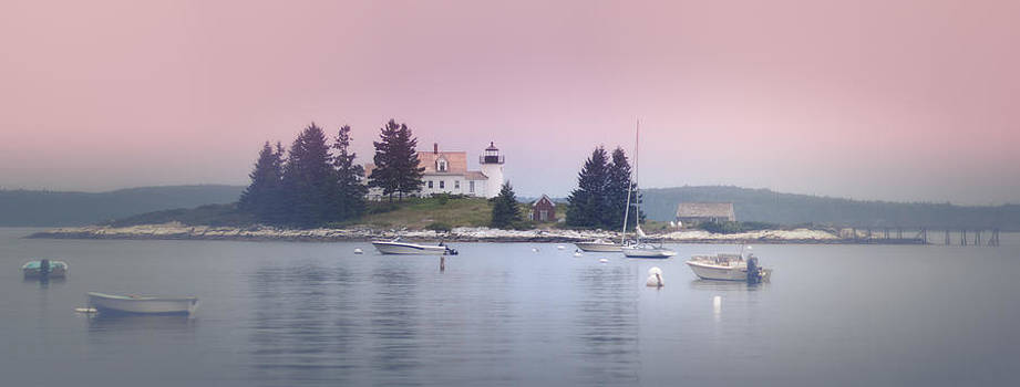 Maine Pumpkin Lighthouse by Chad Tracy