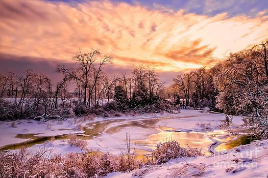 Brenda Giasson - Maine Winter Dawning