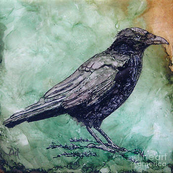 Majestic Crow by Diane Marcotte