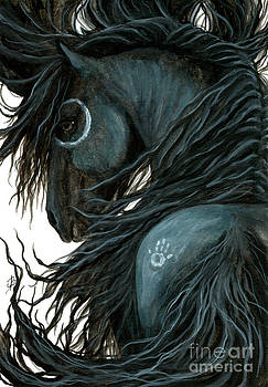 AmyLyn Bihrle - Majestic Friesian Horse107