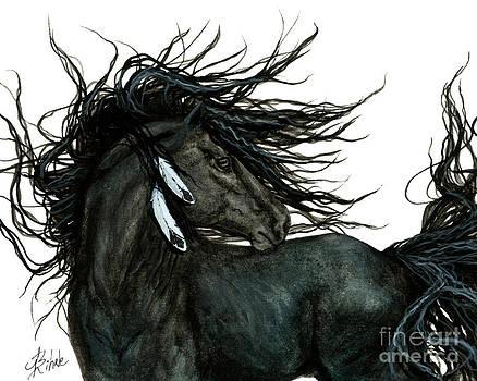 AmyLyn Bihrle - Majestic Friesian Stallion