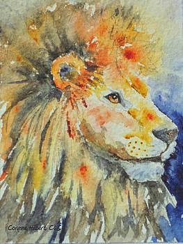 Majestic Lion by Corynne Hilbert