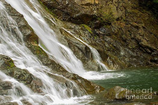 Majestic waterfall by Deanna Proffitt