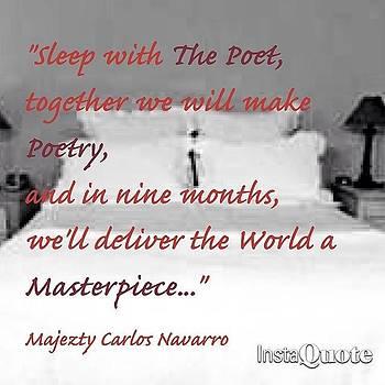 #majeztynavarro #quote #poem by Maxwell Burgin