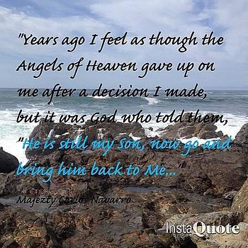 #majeztynavarro #quote #spiritual by Maxwell Burgin