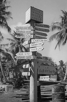 Henri Bersoux - Majuro Signpost