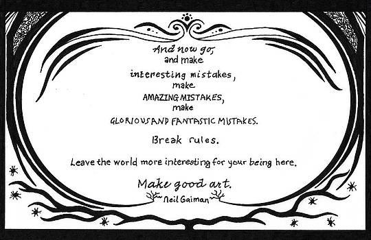 Make Good Art by Kerri White
