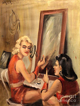 Art By Tolpo Collection - Makeup Time 1940
