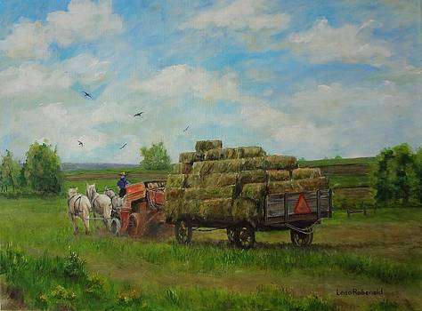 Making Hay While the Sun Shines by Leda Rabenold