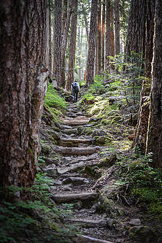 Ronda Broatch - Making Our Way Up the Trail