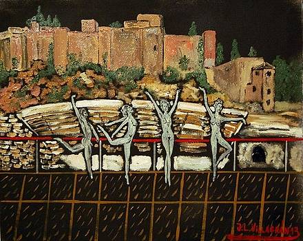 Malaga by Jose Luis Villagran Ortiz