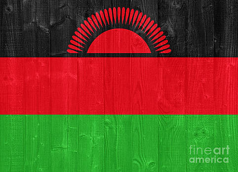 Malawi flag by Luis Alvarenga