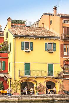 Malcesine Italy by Susan Leonard