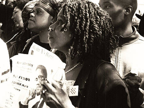 Malcolm X March NYC by King Wells