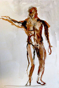 Male Figure by James Gallagher