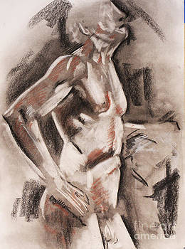 Male figure Study by James Strohmeyer