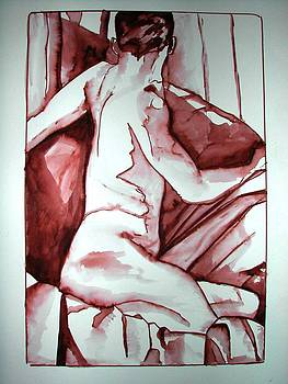 Male Nude by Rebecca Tacosa Gray