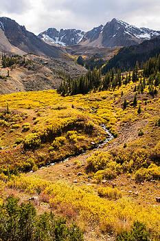Malemute Peak in Autumn by Adam Pender