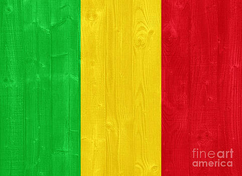 Mali flag by Luis Alvarenga